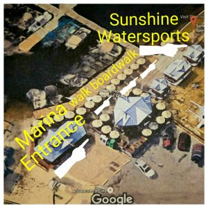 Contact US Ariel photo of Marina 3d To Sunshine Water sports