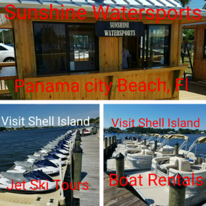 Waverunner dolphin tour Sunshine Watersports Kiosk