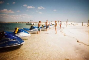 Shell island jetski tours Panama city beach Florida